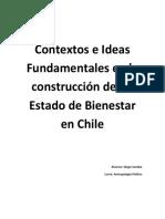 Contextos e Ideas Fundamentales en La Construcción de Un Estado de Bienestar en Chile