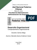 Desarrolo Organizacional