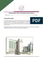 Top Gynecologists in Delhi _ Top Hospitals in Delhi _ Elawoman