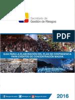 GUIA PARA LA ELABORARCIÓN DE  PLAN DE EVENTO DE CONCENTRACIÓN MASIVA F .pdf