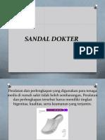Harga Sandal Operasi, 0812.3230.8116