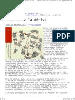 Théorie de La Dérive - La Revue Des Ressources