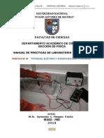 PRACTICA DE LABORATORIO N° 03 FISICA III FIC 2014