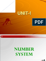 UNIT-I