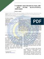 Prosiding Penanganan Emesis Gravidarum Universitasmuhammadiyahsidoarjo