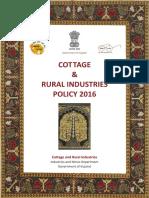 Cottage Rural Industries Policy Book BPG 6