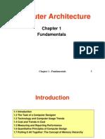 Computer Architecture Fundamentals