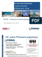 THU33 Primavera Contract Management Presentation CPM Conference 2014 Don McNatty 1-20-14 Final