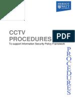 Cctv Procedures