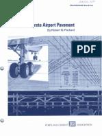 Design of Concrete Airport Pavement