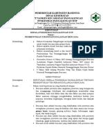 Sk Lampiran Pembentukan Tim Penanggulangan Bencana