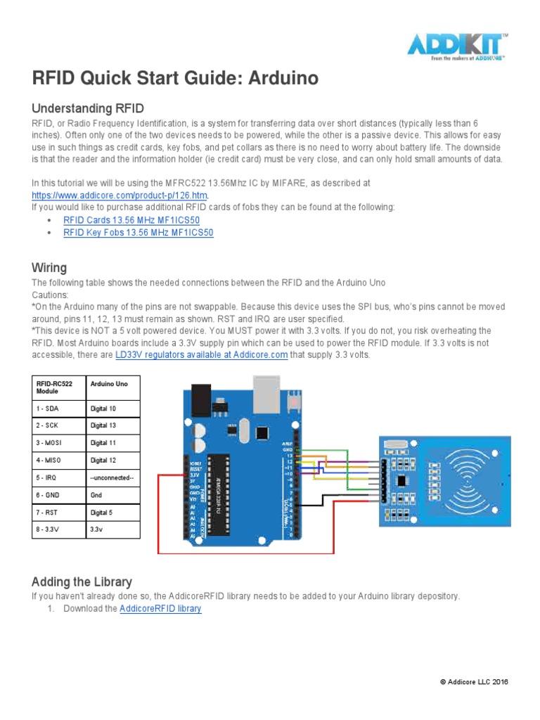 RFID ARDUINO pdf   Identificación de frecuencia de radio