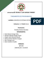 Informe de Programacion123