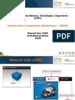 Manual Uso LEGO
