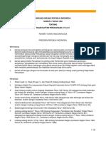 Undang-undang Tentang TDP