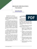 Ponencia - Las Posibilidades Ofrecidas Por El Webmining
