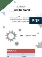 Case Report Tonsilitis