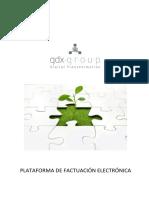 Gdx Suite Plataforma de Facturación Electrónica