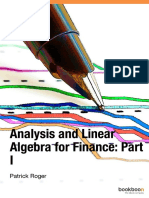 Portfolio Theory Financial Analyses