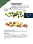 Verduras Bajas en Carbohidratos