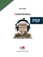 Themalijst Luisterboeken