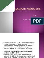 Persalinan Premature