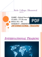 International Trade Presentaion