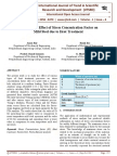 To Study the Effect of Stress Concentration Factor on Mild Steel Due to Heat Treatment