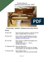 History of Brooadwood Piano