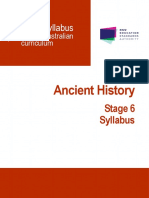 Ancient History Stage 6 Syllabus 2017