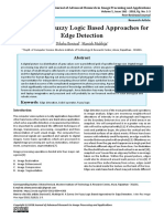 A Survey on Fuzzy Logic Based Approaches for Edge Detection