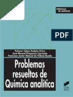 Paloma Yañez-Sedeño Orive - Problemas Resueltos de Química Analítica (2003)
