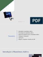 Manufatura Aditiva Com Polímeros