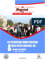 DEVATOP Participation at International Human Trafficking Conference USA