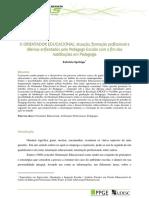 Atuação, formaçãoa e dilemas do pedagogo  com o fimdas habilitações.pdf
