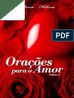 Oracoes Para Amor Volume 1