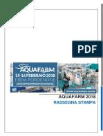 Rassegna Stampa Aquafarm 2018