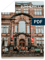 Summerhall Venue Hire Brochure 2018