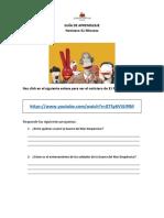 Guía de Lenguaje - Los noticieros - 4° Básico
