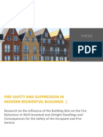 Fire Safety and Suppression in Modern Residential Buildings April 2015