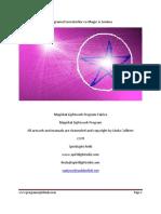 Programul Lucratorilor Cu Magie Si Lumina Zanele