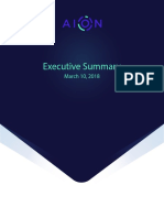 Aion Network Executive Summary