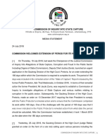 State capture commission media statement