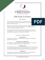 Code Ethics 1-07