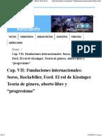 fundaciones internacionales