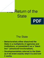 On Theory of the State 2