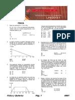 examen de admision uni 2013-I fisicaquimica
