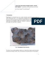 Regmaglypts on Clasts from the Puerto Mínguez ejecta, Azuara impact event