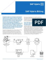 Data Sheet SAP Hybris Billing En
