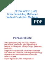 Line of Balance (Lob)